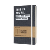 Записник Moleskine DENIM – THIS IS YOURS LCDNQP060T, LCDNQP060T, Moleskine - Купить в интернет-магазине Darilka.com.ua