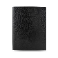 Блокнот Flex by Filofax Lizard Print A5 Black