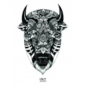 Скетчбук Crazy Sketches - Buffalo L